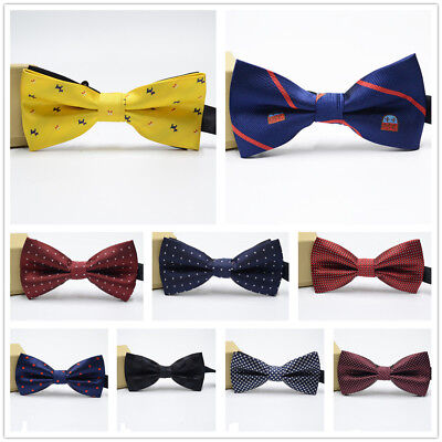 Men's Bow Tie Suit Banquet Adult Fashion Wedding Groom Bow