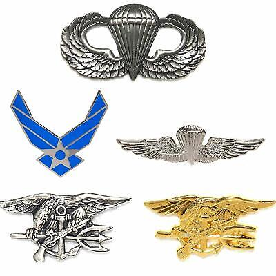 Abzeichen US Airforce Para Wing Navy Seals Marine Jumper aus Metall Pin