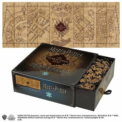 Harry Potter Marauders Map Puzzle 1000 Pieces Noble Collection Official