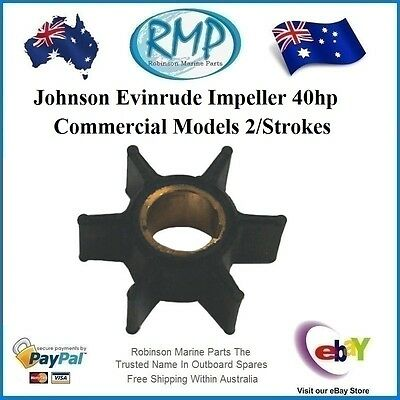 Aftermarket Evinrude Johnson Water Pump Impeller 40hp Commercial Model R 390286