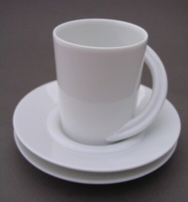 Rosenthal  Studio Line  Cupola -  Small Coffee Can And Two Saucers