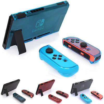 Protective Case With Screen Protector Split Dustproof Thin For Nintendo Switch