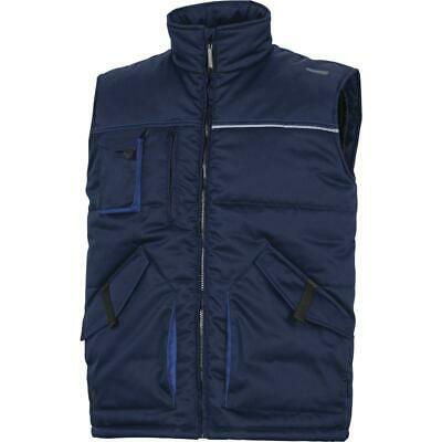 Delta Plus MACH2 Stockton2 Quilted Bodywarmer Gilet / Work Vest - Panoply