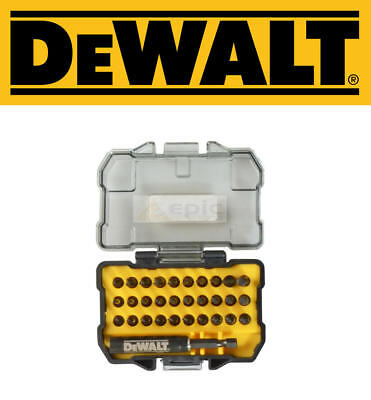 Dewalt 32 Piece Impacte Embouts de Tournevis & Perceuse Support Set Pz ,Ph,Torx,