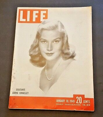 January 10, 1949 LIFE Magazine 40s Advertising ads add ad FREE SHIPPING Jan 1 11