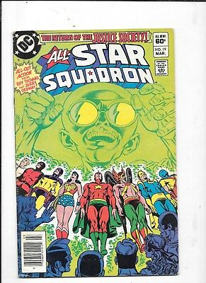 ALL-STAR SQUADRON  COMICS #19 DC COMIC BOOK  99c shipping $1.99 BID