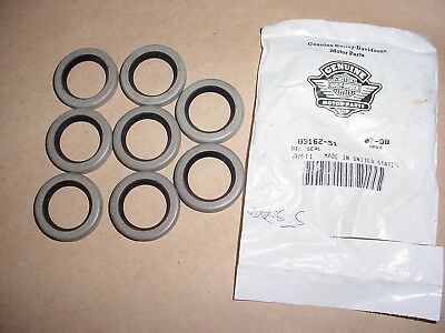 Harley Davidson Transmission Seal Bag of 8 83162-51
