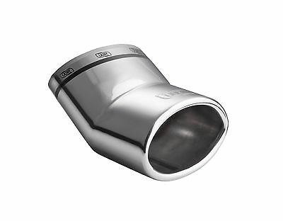 Exhaust End Pipe Smart Fortwo Forfour Type 453 Oval since 2014 Tüv - Free