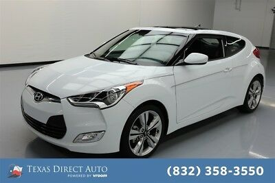 Hyundai Veloster Value Edition Texas Direct Auto 2017 Value Edition Used 1.6L I4 16V Automatic FWD Hatchback