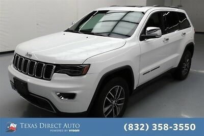 Jeep Grand Cherokee Limited Texas Direct Auto 2017 Limited Used 3.6L V6 24V Automatic 4WD SUV