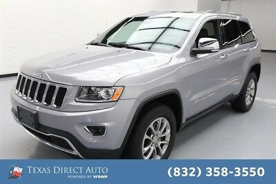 Jeep Grand Cherokee Limited Texas Direct Auto 2015 Limited Used 3.6L V6 24V Automatic 4WD SUV