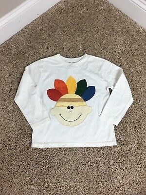 Wild By Design Boys Boutique Thanksgiving Coustom Boutique 5T 5 Shirt #153