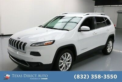 Jeep Cherokee Limited Texas Direct Auto 2014 Limited Used 3.2L V6 24V Automatic FWD SUV