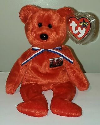 Ty Beanie Baby ~ WALES the Bear (UK Exclusive) MWMT