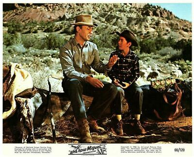 And Now Miguel Original Lobby Card Pat Cardi  Michael Ansara 1966 Western