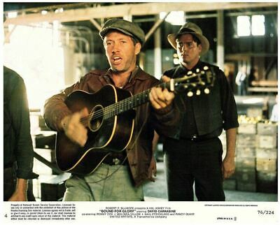 Bound For Glory David Carradine Original 8x10 US Lobby Card 1976 Playing Guitar