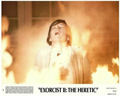 Exorcist 2 The Heretic Original US 8x10 Lobby Card # 8