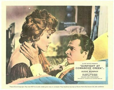 Gunfight At Comanche Creek Original Lobby Card Audie Murphy Coleen Miller 1963