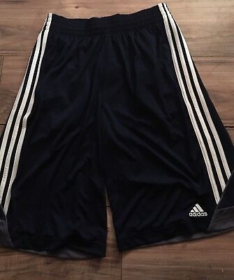Adidas Mens Athletic Shorts Size Small 3G Speed 2.0 Navy Blue White Nwt
