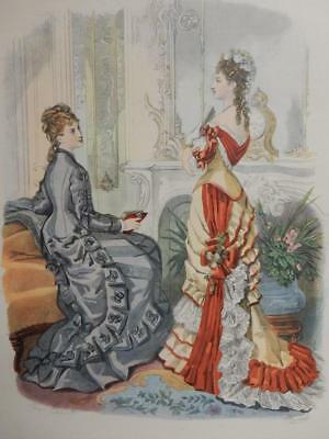 really old picture print victoriana fashion