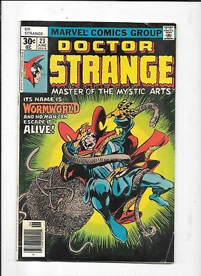 DOCTOR  STRANGE COMICS  #23 MARVEL COMIC BOOK 99c shipping $3.99 BID 1977
