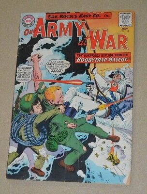 Dc Comics Our Army At War Sgt. Rock No.154 G/vg
