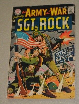 Dc Comics Our Army At War Sgt. Rock No.185 Vg-