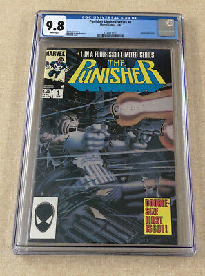 1986 MARVEL PUNISHER LIMITED SERIES #1 CGC 9.8 MINT COMIC MIKE ZECK 1st SOLO NR