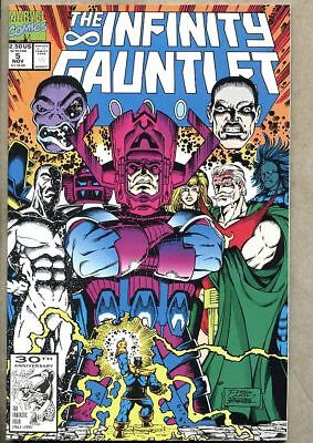 Infinity Gauntlet #5-1991 nm- 9.2 Avengers / Thanos Jim Starlin George Perez