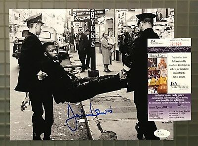 John Lewis Signed 8x10 Photo Autographed JSA COA CIVIL RIGHTS LEADER Auction #3