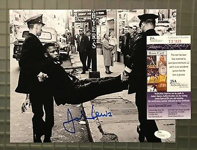 John Lewis Signed 8x10 Photo Autographed JSA COA CIVIL RIGHTS LEADER Auction #4