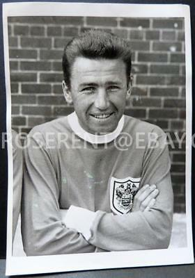 1960s Tommy Thompson - Blackpool player  - original Press Photo - 20 by 15.5cm