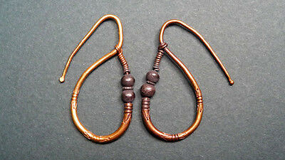 Ancient Gold Earrings Provenance: Christie's Roman Egypt 100-300 Ad