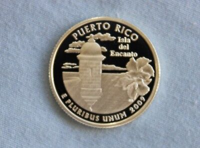 2009-S Puerto Rico Silver Proof US Territories Ultra Deep Cameo