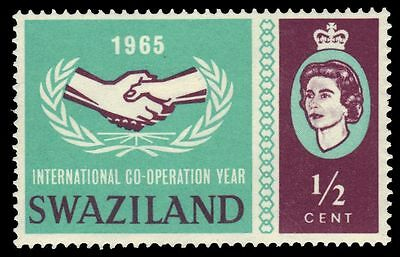 SWAZILAND 117 (SG115) - International Cooperation Year (pf85338)