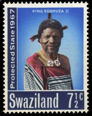 "SWAZILAND 127 (SG125) - Self-Government ""King Sobhuza II"" (pa93601)"