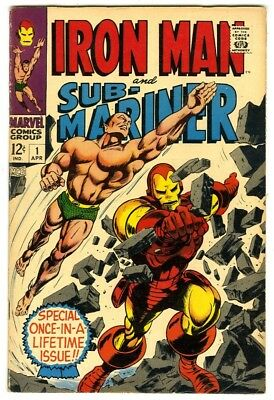 Iron Man and Sub-Mariner #1 (1968) Fine New Marvel Silver Bronze Collection