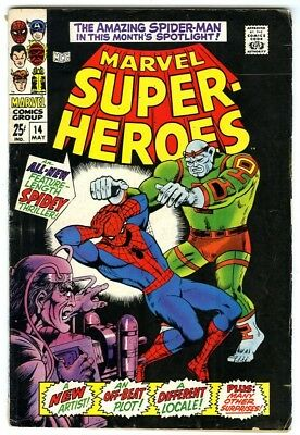 Marvel Super-Heroes #14 (1968) VG+ New Marvel Silver Bronze Collection