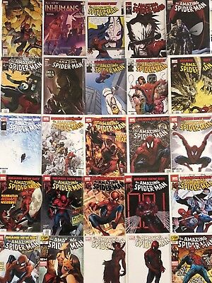 Amazing Spider-Man Comics Huge Lot 25 Comic Book Collection Set Run Books Box 2