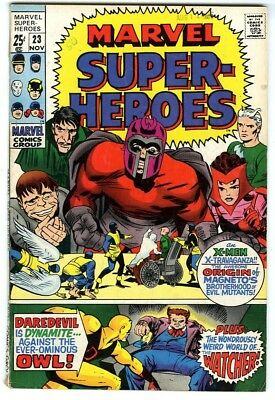 Marvel Super-Heroes #23 (1969) Fine- New Marvel Silver Bronze Collection