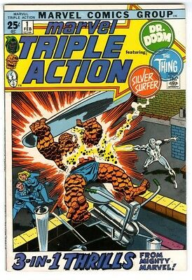 Marvel Triple Action #1 (1972) VF New Marvel Silver Bronze Collection