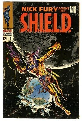 Nick Fury Agent of Shield #6 (1968) VF- New Marvel Silver Bronze Collection