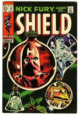 Nick Fury Agent of Shield #10 (1969) VF- New Marvel Silver Bronze Collection