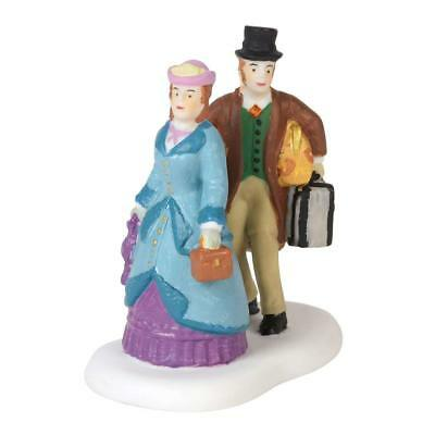 Department 56 Dickens Village Evening Arrival Accessory Figurine