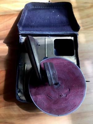 Antique Rare  Gramophone /record Player Portable Child's Working One Needle