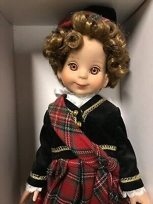 """14"""" Tonner Betsy McCall doll Scotland in box"""