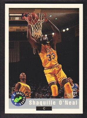 1992 Classico Basket Promo #1 Shaquille o' Neal Lsu Tigers
