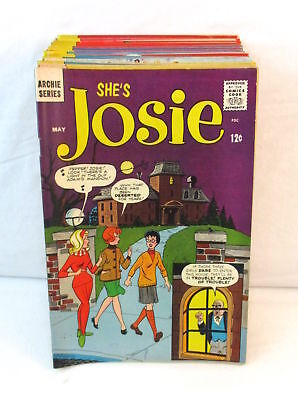 Lot Of 31 JOSIE Comics #6-43 Archie Silver Age 1964-1969 Pussycats High Grade