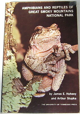 Amphibians And Reptiles Of Great Smoky Mountains National Park