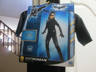 The Dark Knight Cat Woman Kid's Costume Small Size 4-6 Years 3-4 Free Ship NEW